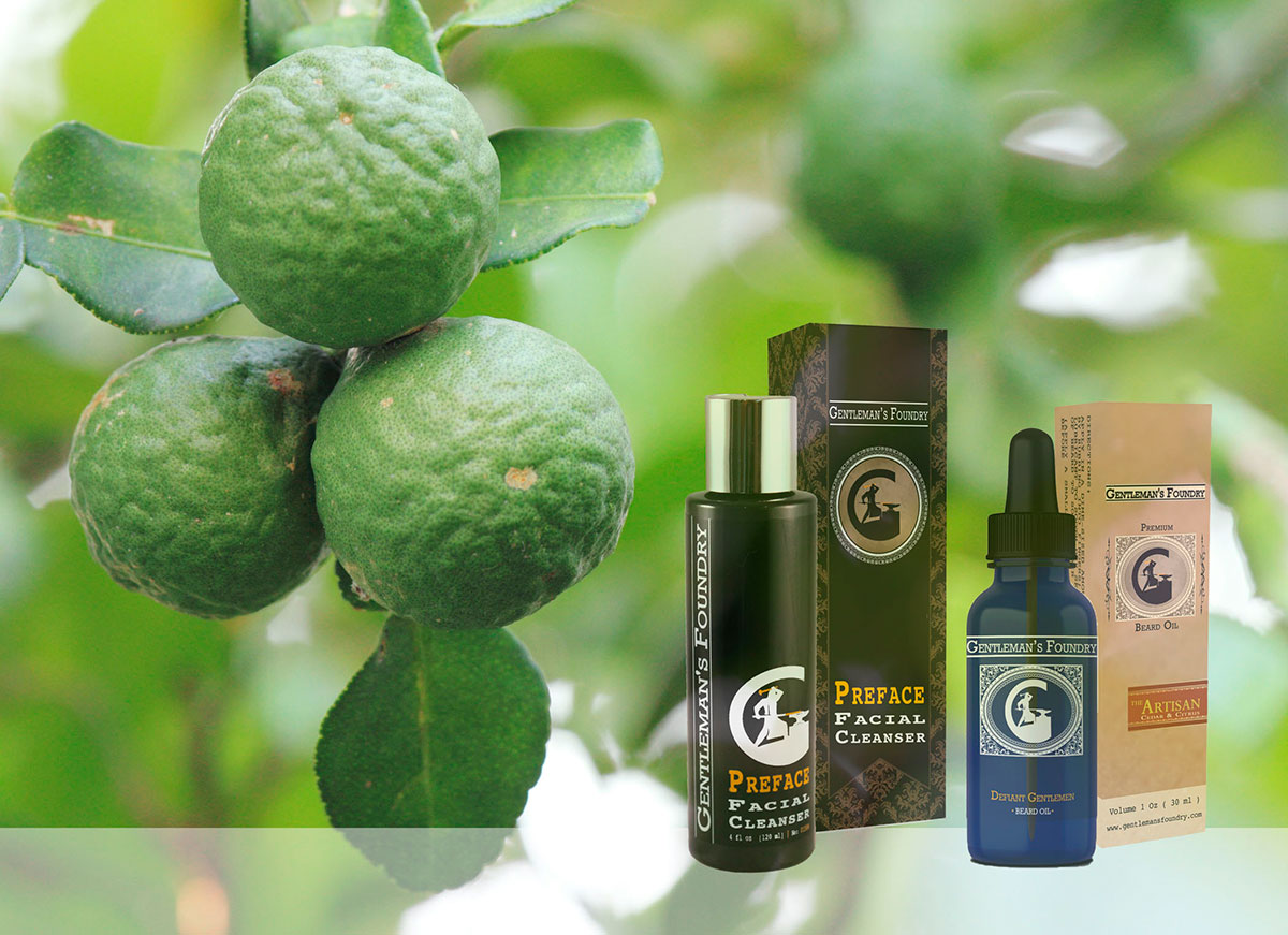 Preface Facial Cleanser & The Artisan Beard Oil: Bergamot-Powered