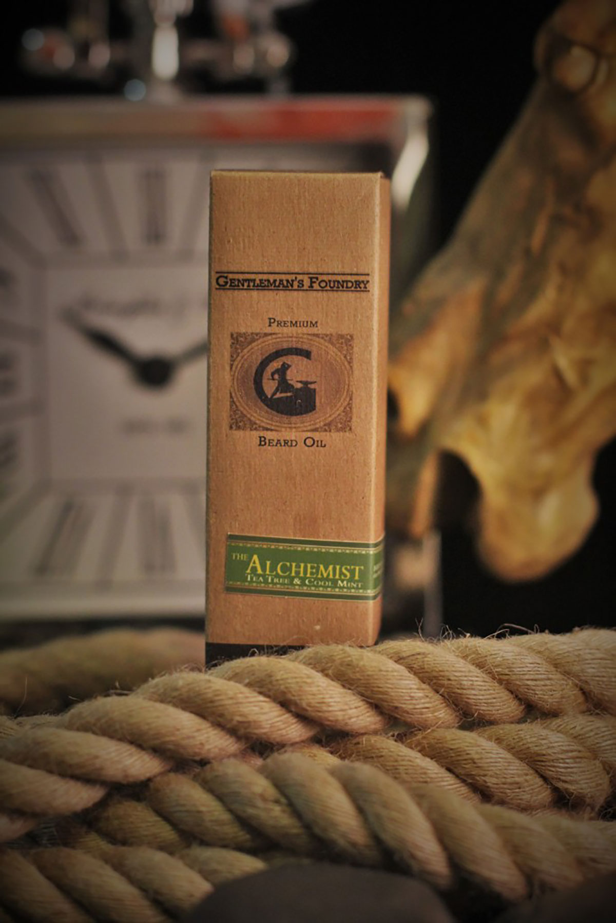 The Chill of The Alchemist Tea Tree & Peppermint Beard Oil