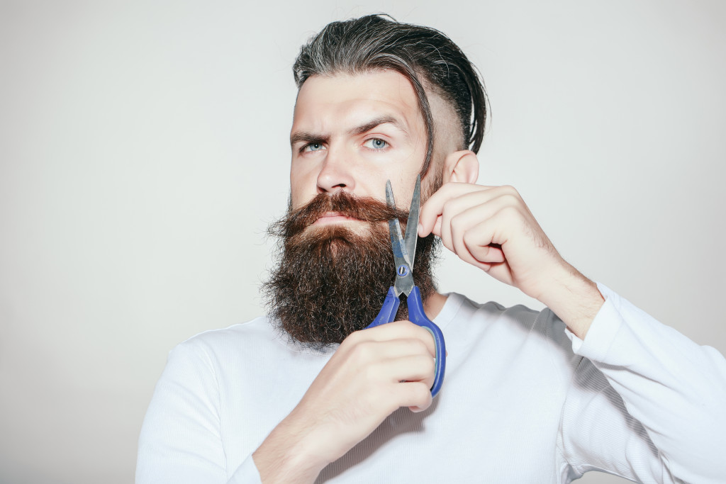Always Trim Your beard and trim your mustache