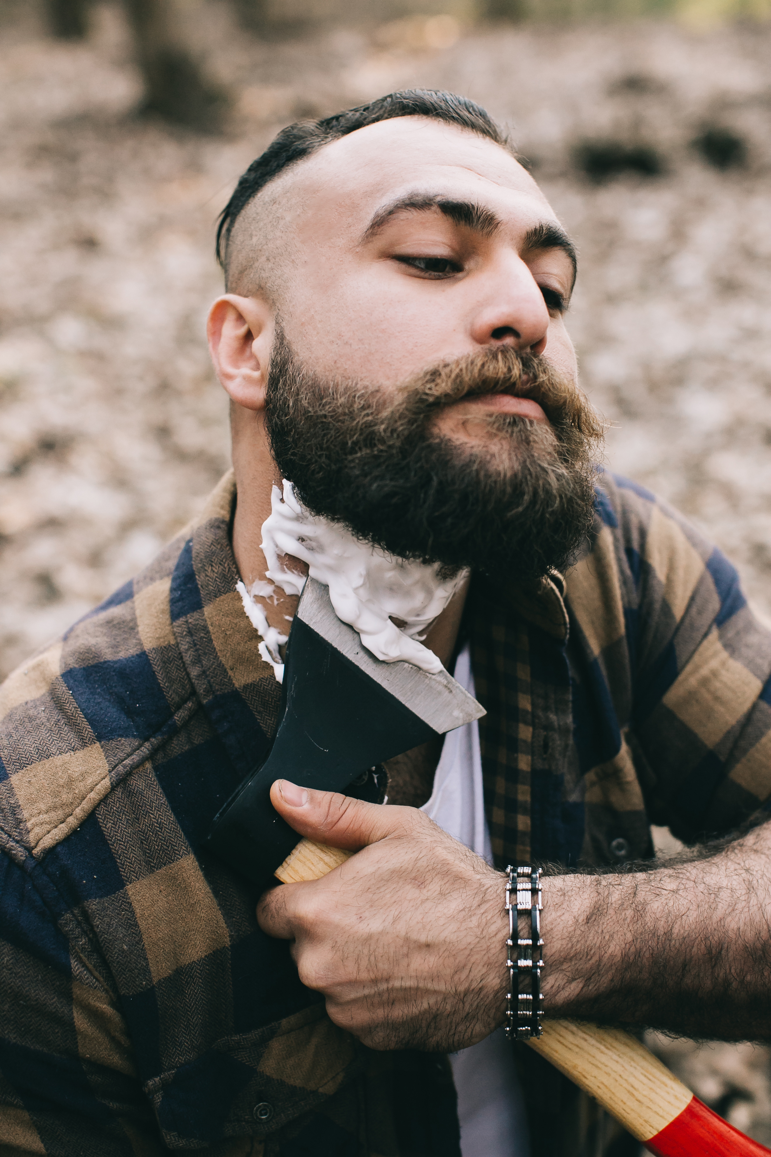 How To Shave With An Axe Lumbersexual Beard
