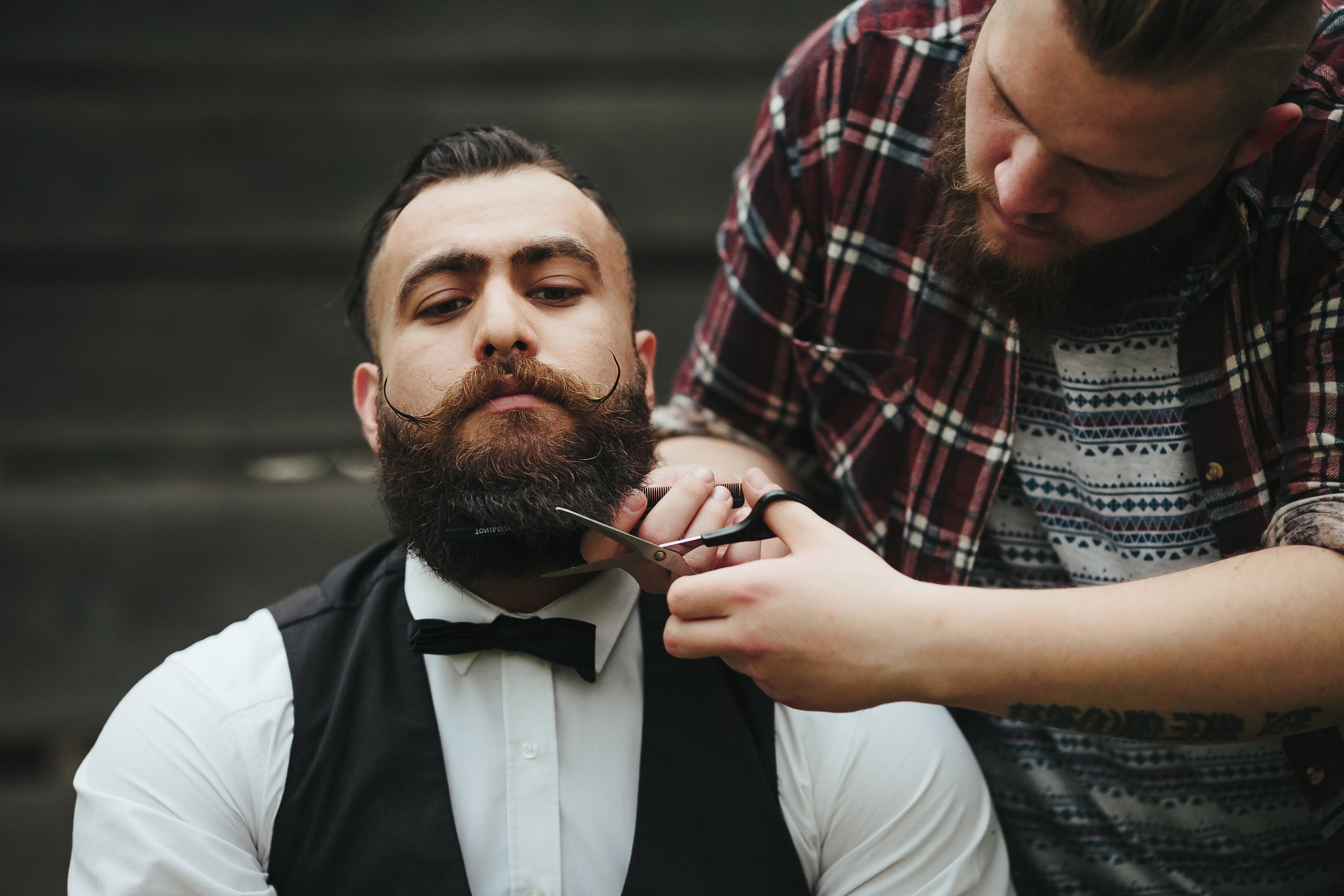 How to Trim Your Beard with Beard Scissors