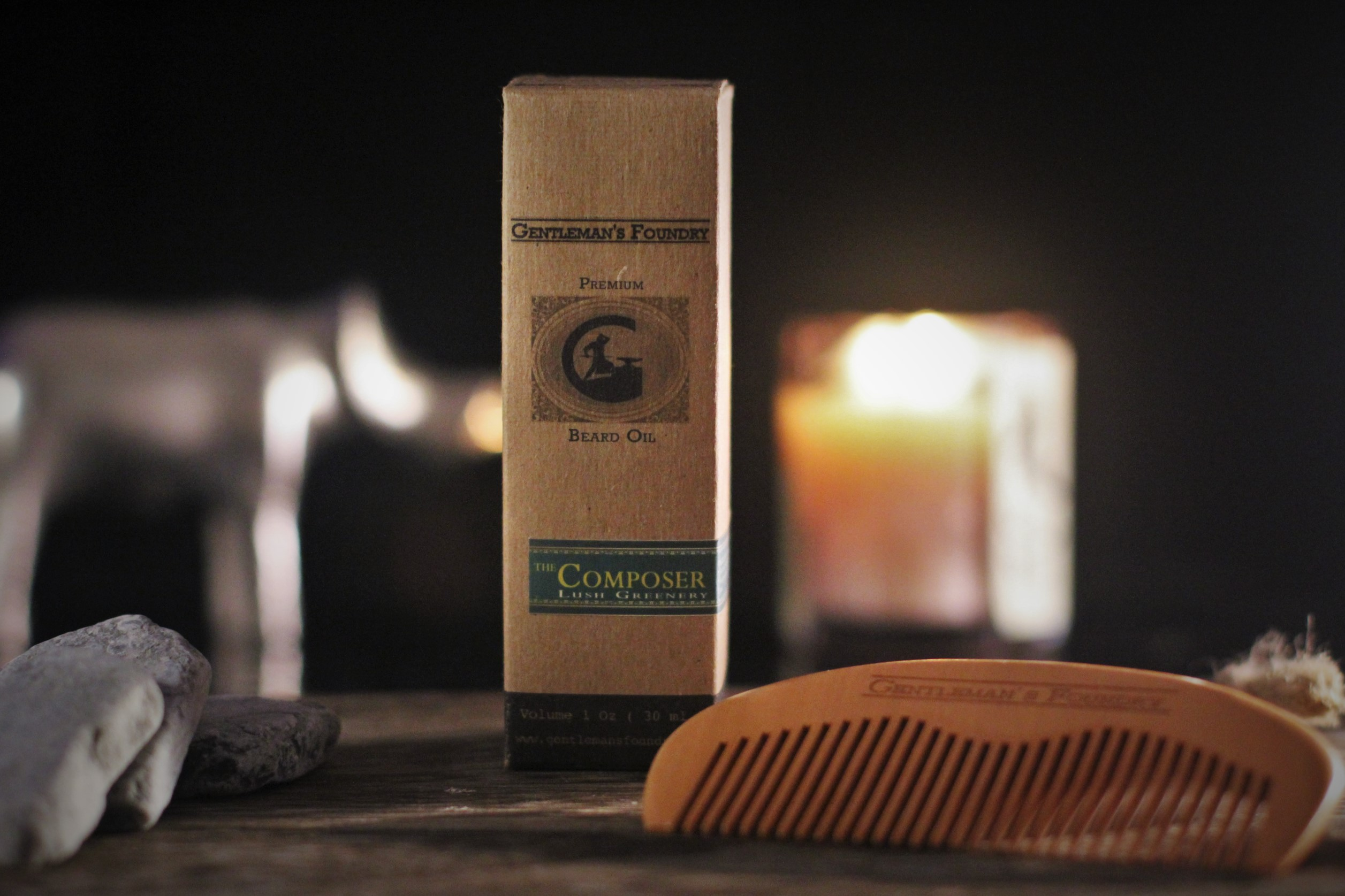 Introducing: Gentleman's Foundry Cherry Wood Combs: Free When You Buy Beard Oil For A Limited Time
