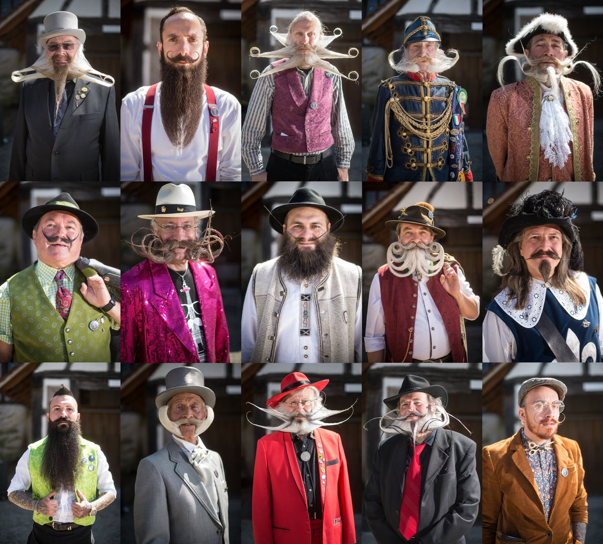 The International Beard and Moustache Championship Invaded France