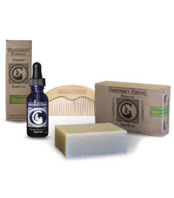 Alchemist Peppermint & Tea Tree Combo Beard Gift Set