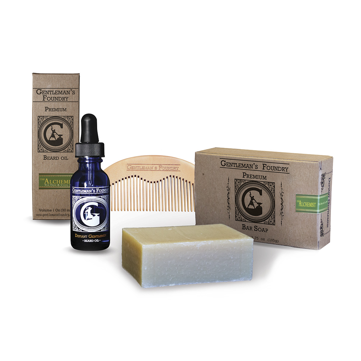 Limited Time Offer! Order Beard Oils and Receive a Free Soap Bar and Comb!