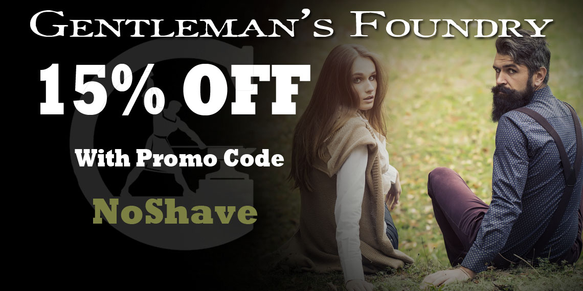 "Get 15% Off With Promo Code ""NoShave"""